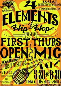 first thursday open mic