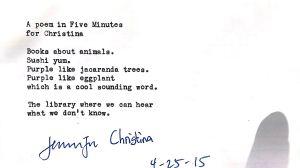 christinas poem