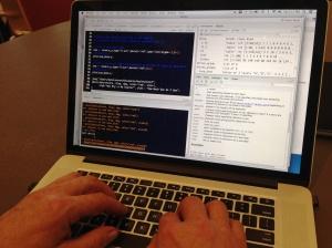 Dennis laptop coding
