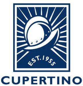 image of city of cupertino helmet