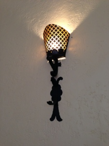 Sunday Assembly sconce