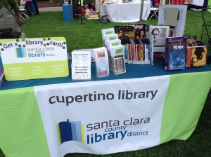 diwali cupertino library table
