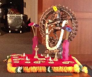 Diwali Library 3 altar use