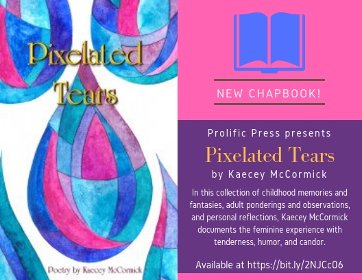 Chapbook Announcement - Pixelated Tears